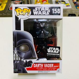 Darth Vader Bespin Star Wars Funko Pop 158 Smugglers Bounty