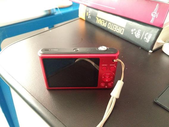 Câmera Digital Samsung St66- 16.1mp-vermelha