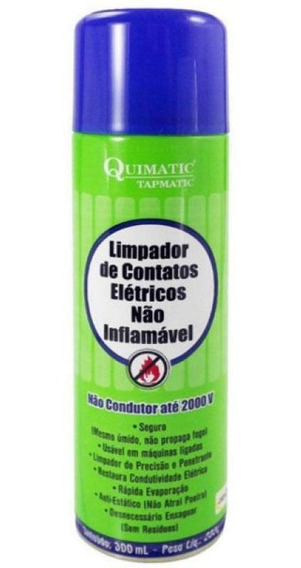 Limpa Contato Eletrico Nao Inflamavel 300ml Tapmatic Ia1