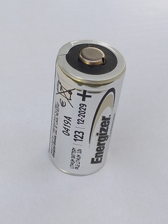 Pila Energizer Lithium 123 3v