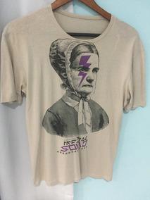 Zara Camiseta Tamanho M Masculina Manga Curta
