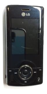 Celular Lg Km500 Sucata Com Bateria Parou De Ligar