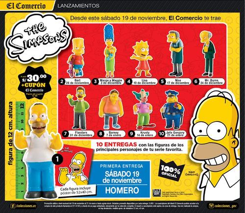 Colección Los Simpson Del Comercio
