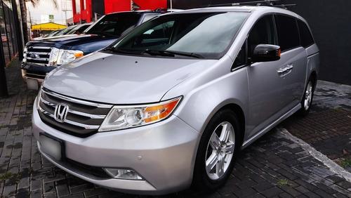 Imagen 1 de 15 de Honda Odyssey 2013 3.5 Touring Minivan Piel Cd Qc Dvd At