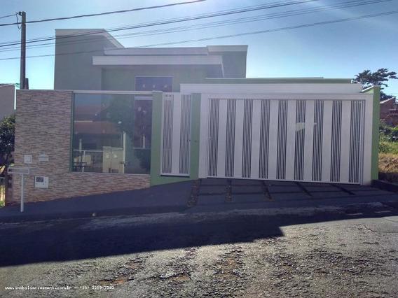 Casa Para Venda Em Pirapozinho, Jardim Bela Vista, 3 Dormitórios, 1 Suíte, 1 Banheiro, 2 Vagas - 4033