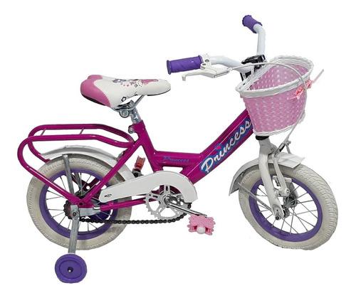 Bicicleta De Nena, Rodado 12, Princess - Pioneer -