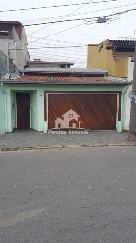Imagem 1 de 30 de Sobrado 3 Quarto(s) C/suite Para Venda No Bairro Jardim Oriental Em Santo André - Sp - Sob325