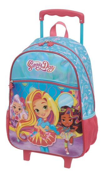 Kit Mochila Rod G Lanch Estojo Sunny Day Hair Pacific