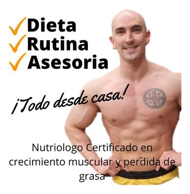 Dieta, Rutina Y Asesoría Personalizada - Programa Fitness