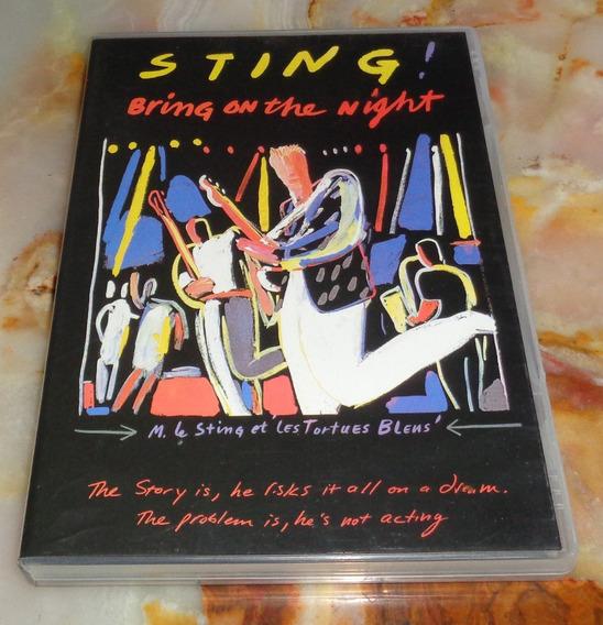 Sting - Bring On The Night - Dvd Original Arg.