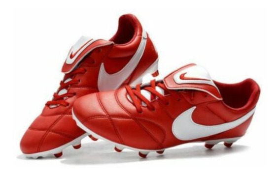 Chuteira Nike Premier Ii Fg Couro De Canguru Profissional