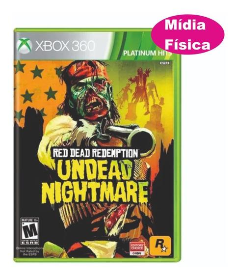 Red Dead Redemption: Undead Nightmare Xbox 360 Em Japones