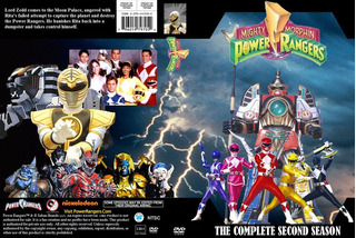 Coleção Power Rangers Todas Temporadas
