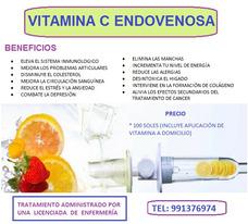 Vitamina C Endovenosa - Cajamarca