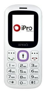 Celular Ipro I3100 Dual Sim Tela De 1.8 Vga - Branco/roxo