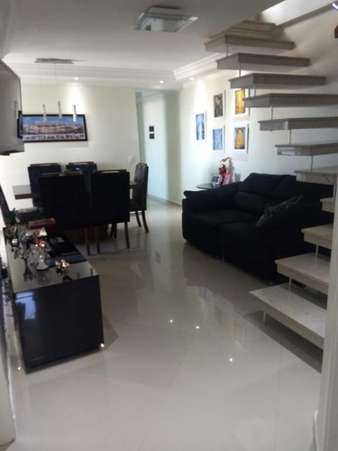 Cobertura Com 3 Dormitórios À Venda, 170 M² - Nova Petrópolis - São Bernardo Do Campo/sp - Co2141