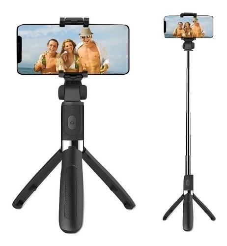 Tripé Pau De Selfie Bluetooth Retrátil Universal Celular Pro