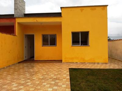 Casa Nova, Na Praia, Barata, R$65.000 De Entrada, Na Planta!