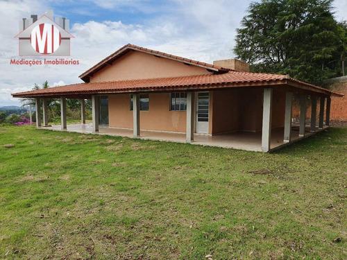 Chácara Com Vista Maravilhosa, 04 Dormitórios, Gramada, Em Ótimo Bairro, À Venda, 2000 M² Por R$ 430.000 - Zona Rural - Pinhalzinho/sp - Ch0613