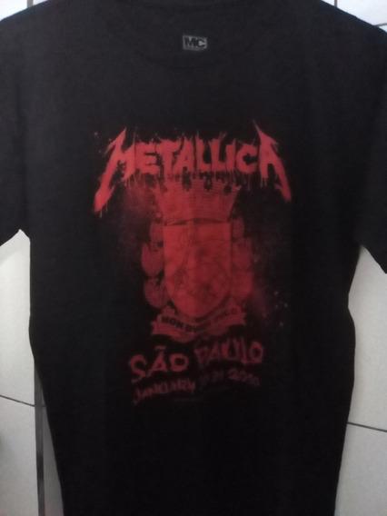 Metallica Camiseta Oficial Merchandising