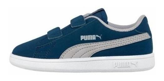Tenis Niño Puma Smash V2 Buck V 830714
