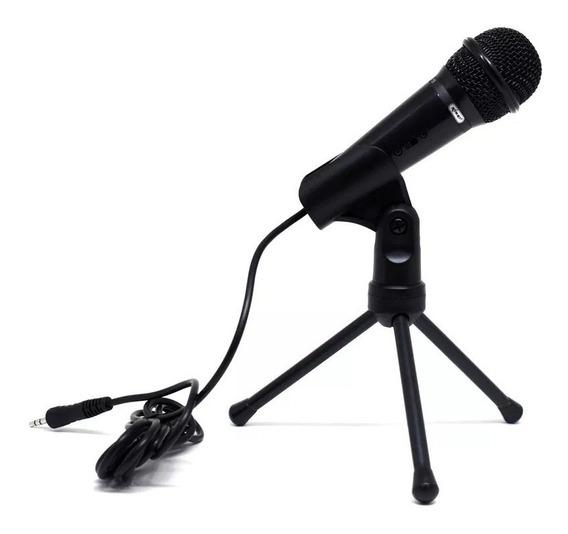 Microfone Condensador P2 - Desktop Pc Notebook Smartphones