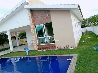 Casa Residencial À Venda, Centro, Cruz Do Espírito Santo. - Ca0054