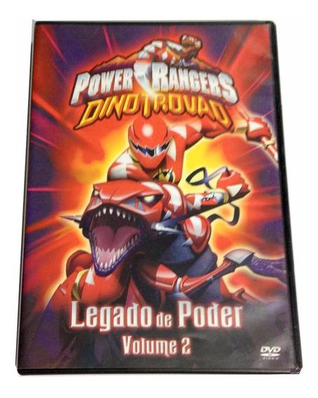 Dvd Power Rangers Dino Trovão Legado Do Poder Vol 2 Dublado