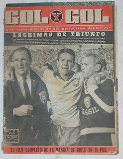 Revista Gol Y Gol Del Mundial 1962 Chile