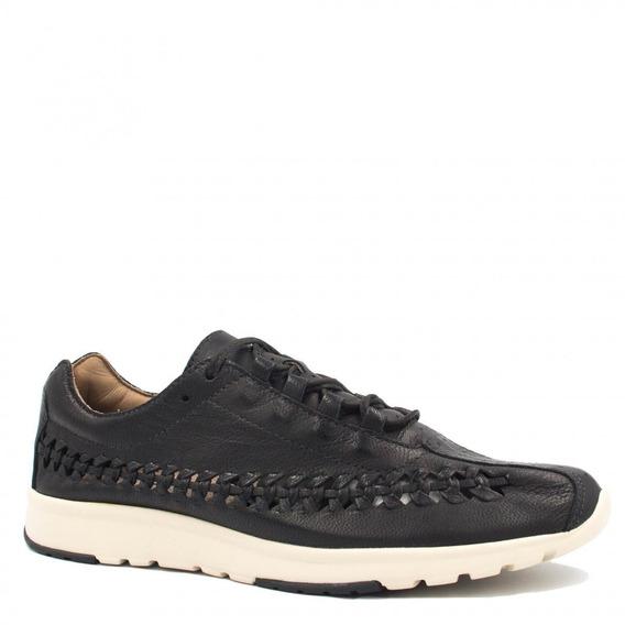 Tênis Feminino Zariff Shoes Casual Em Couro Vazado