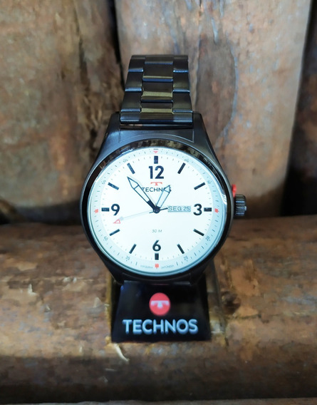 Relógio Masculino Technos Mod 2105ax/4b Original - Nf
