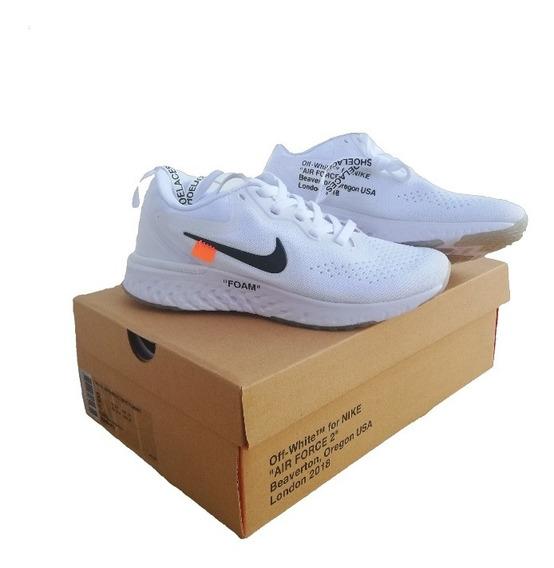 Zapatos Nike Epic React Foam Blanco 36 - 44 (somos Tienda)