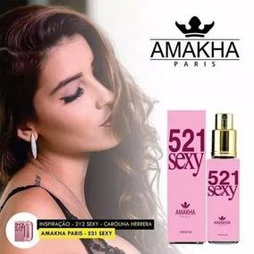 Perfumes Femininos 521 Sex - 15ml (212 Sexy)