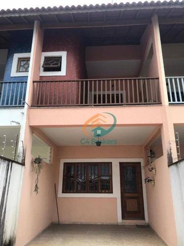 Imagem 1 de 19 de Sobrado Com 3 Dormitórios À Venda, 167 M² Por R$ 540.000,00 - Jardim Bom Clima - Guarulhos/sp - So0185