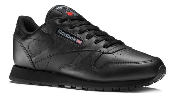 Zapatillas Reebok Escolar Classic Leather Niños Blanco Negro