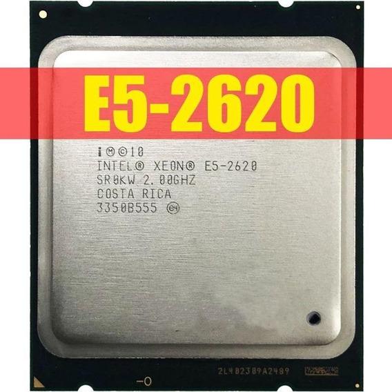 Cpu Intel Xeon E5 2620 Lga 2011