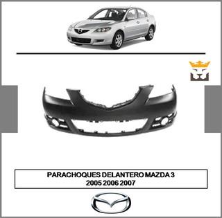 Parachoques Delantero Mazda 3 2005 2006 2007