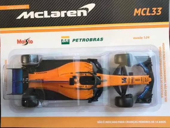 Miniatura Mclaren Fernando Alonso Mcl33 2018 Escala 1:24