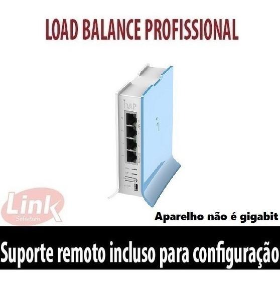 Roteador Wifi Mikrotik Rb 941 (hap Lite) Load Balance 3 Wan