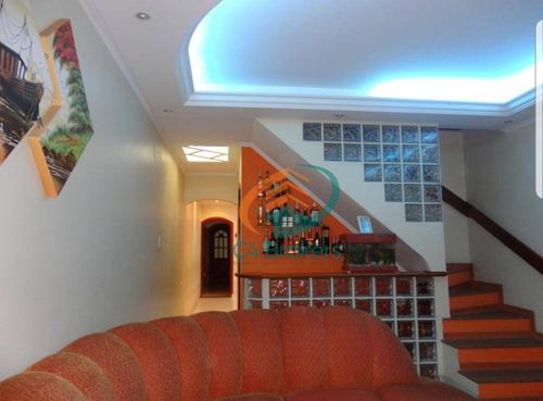 Sobrado Com 4 Dormitórios À Venda, 125 M² Por R$ 550.000,00 - Jardim Presidente Dutra - Guarulhos/sp - So0332