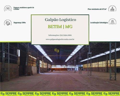 Imagem 1 de 22 de Galpão À Venda, 4.050 M² - Distrito Industrial Jardim Piemont Sul - Betim/mg - Ga1446
