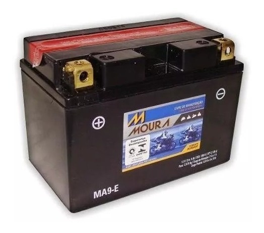 Bateria Moura Ma9-e Gsxr 1000 750 Srad Hayabusa 1300 Até 07