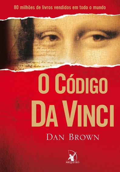 Livros Código Da Vinci Dan Brown Literatura Estrangeiro Ação