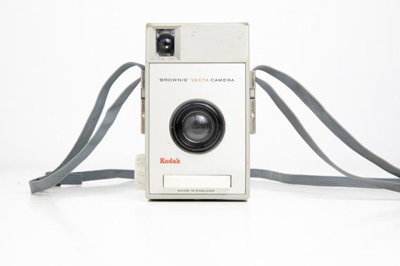 Câmera Fotográfica Antiga Kodak Brownie Vecta