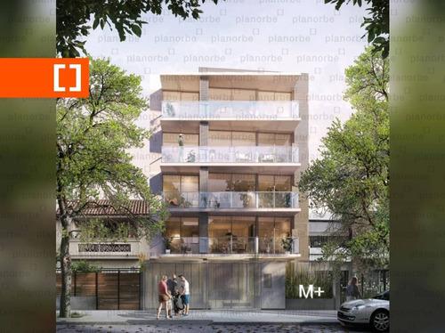 Venta De Apartamento Obra Construcción Monoambiente En Pocitos Nuevo, M+ Unidad 007