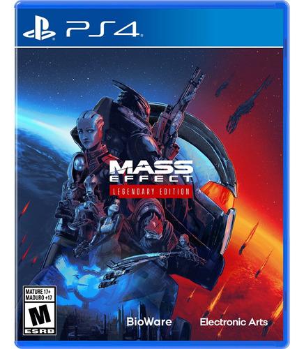 Imagen 1 de 7 de Mass Effect Legendary Edition Formato Físico Ps4 Original