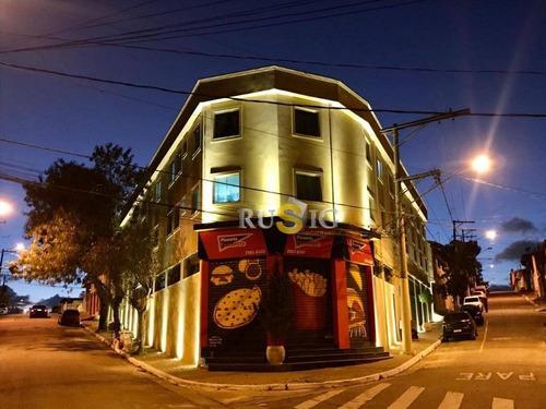 Apartamento Com 1 Dormitório Para Alugar, 30 M² Por R$ 650,00/mês - Jardim São Pedro - São Paulo/sp - Ap1272