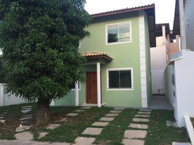 Excelente Casa Em Condomínio De Alto Padrão Em Macaé - Ca0002