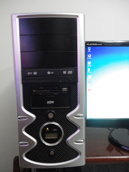Computador E7500 4gb Hd160gb Vga Ati Radeon Hd 4350+ Monitor