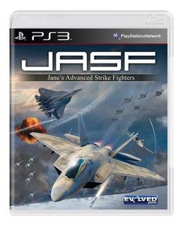 Jasf Janes Advanced Strike Fighters Ps3 Mídia Física